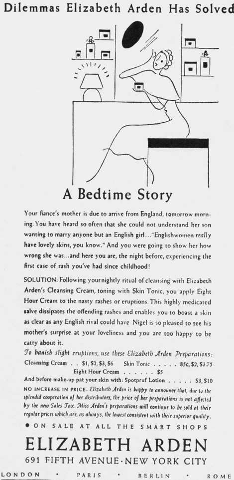 eight hour cream ad