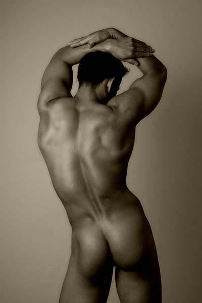 Пизде мужик голый с зади женщина
