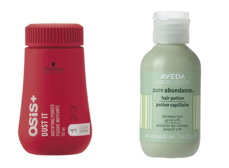 Hair Powders: Schwarzkopf and Aveda