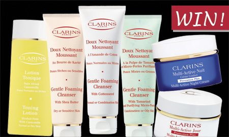 Clarins prizes