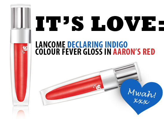 lancome aarons red