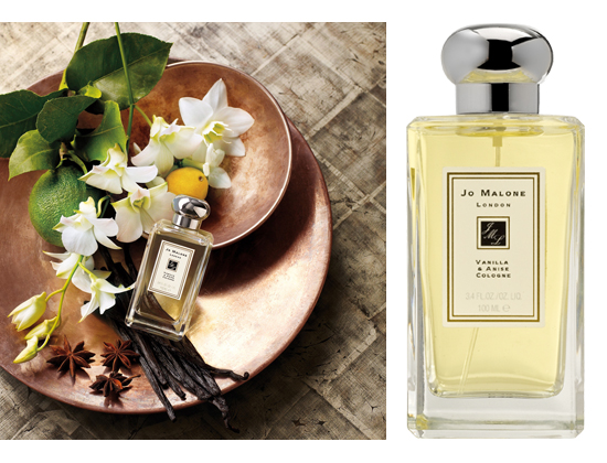 vanilla and anise cologne