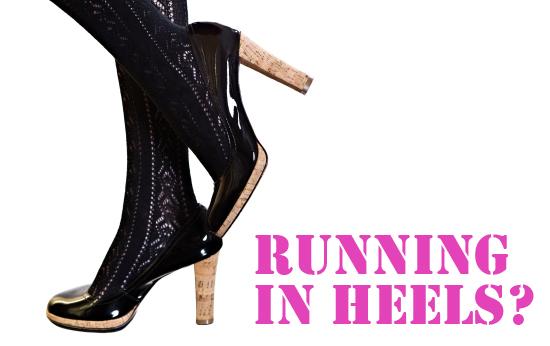 Sexy black patent platform high heels stilettos