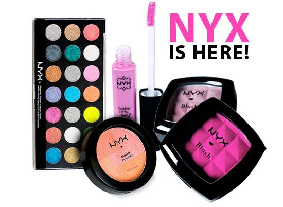 Hem Hem: NYX Cosmetics Available in Ireland!