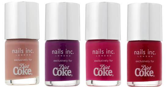 diet coke nails inc