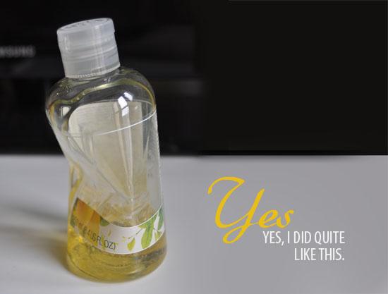 body shop sweet lemon shower gel
