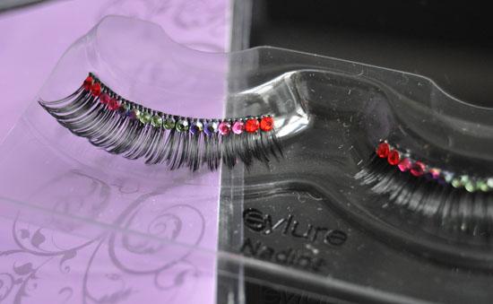 lashes closeup