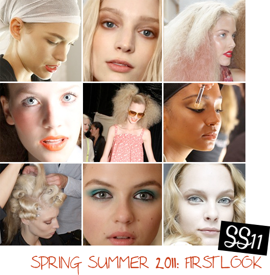 spring summer 2011 beauty trends - first look