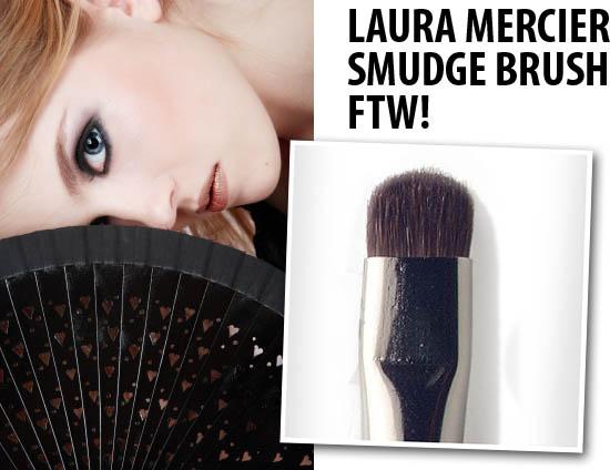 laura mercier smudge brush