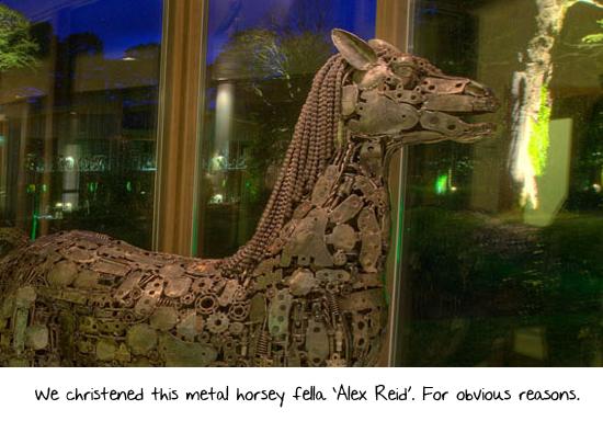 Jordan's fella alex reid visits monart