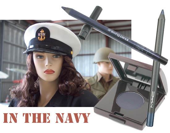 navy eyeliner