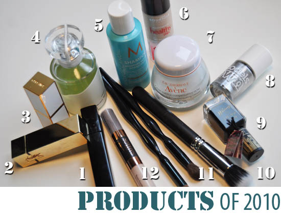 12 products of 2010