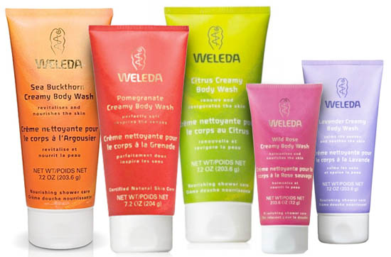 weleda creamy washes