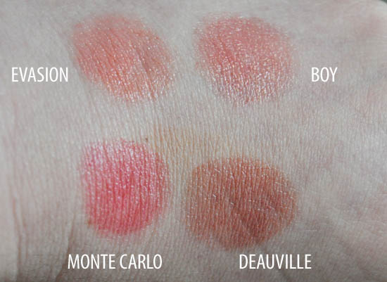 chanel swatches