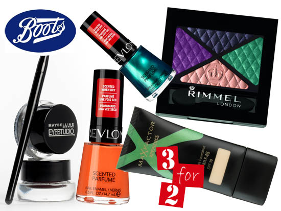 3 for 1 at boots