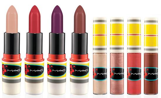 mac lipsticks and lipglosses
