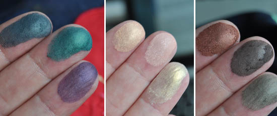 finger swatches