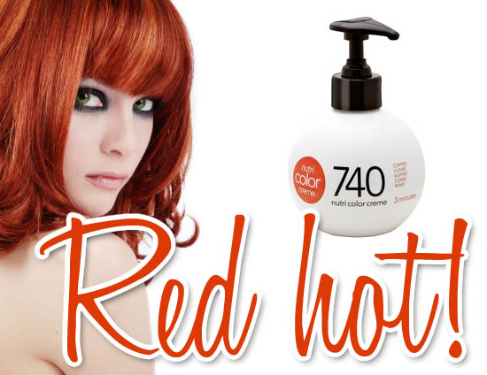 Revlon Professional Nutri Colour Creme In 740 For Red Hair Review