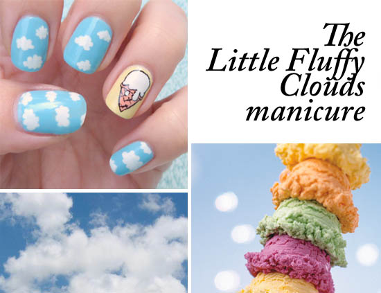 Beaut How To Cloud Print Nails Beaut