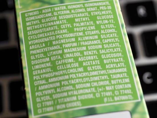 garnier ingredients