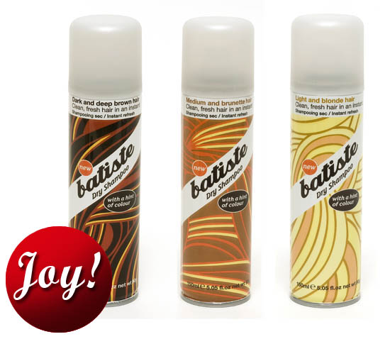 Batiste Coloured Dry Shampoos Rock My World | Beaut.ie
