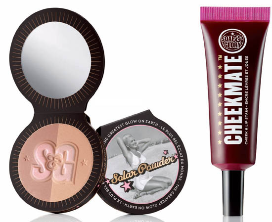 soap and glory cheek products
