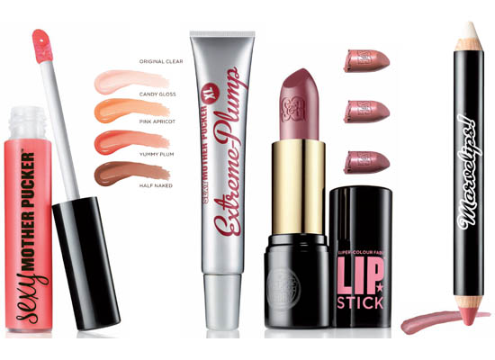 soap and glory cosmetics lip products