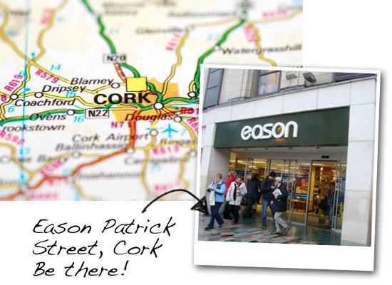 meet us at Eason Patrick St