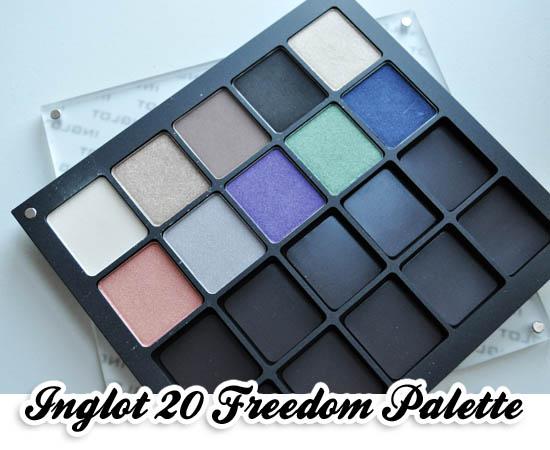inglot freedom system 20 pan palette
