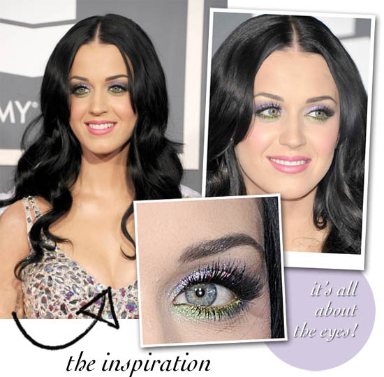 katy perry Grammys 2011 makeup