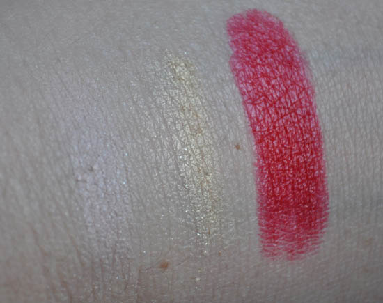 lancome golden hat swatches