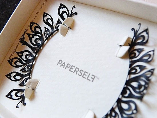 paperself lashes in the box
