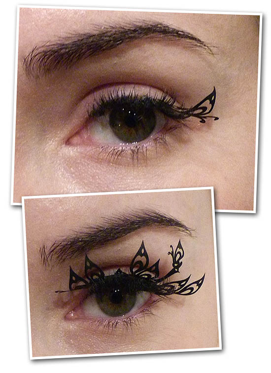 paperself lashes in wear