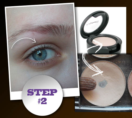 smokey eye step 2