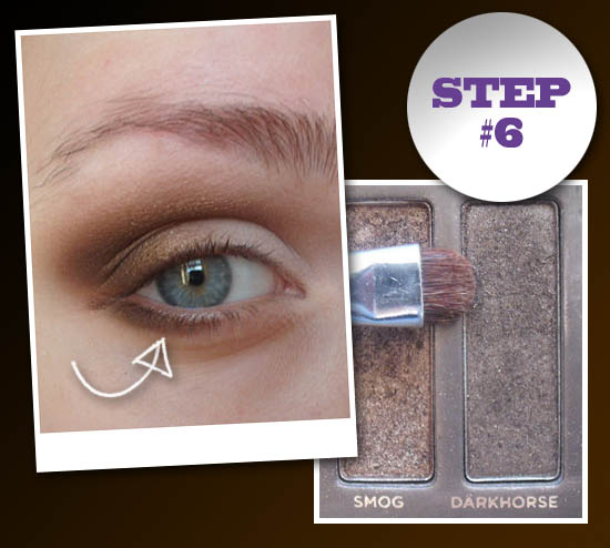 smokey eye step 6