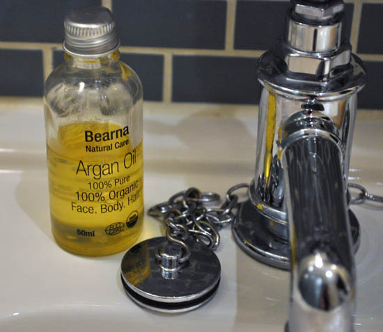argan oil from bearna natural care
