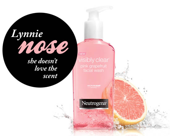 Neutrogena Visibly Clear Pink Grapefruit Facial Wash Review Beautie