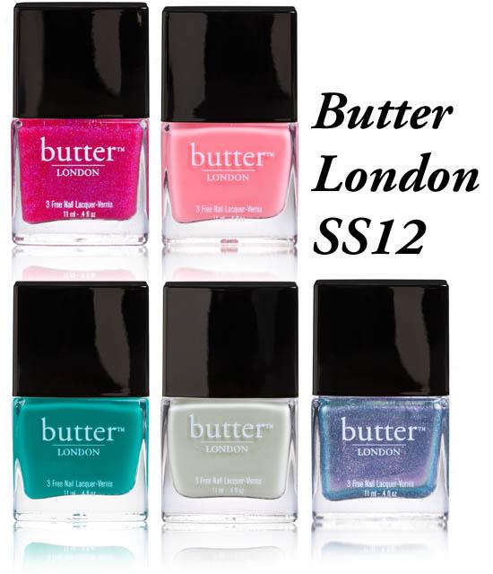 Butter london ss12
