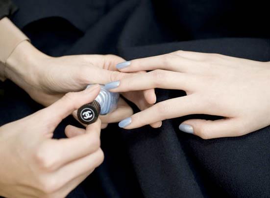 chanel sky line nail polish - pic credit: la chanelphile