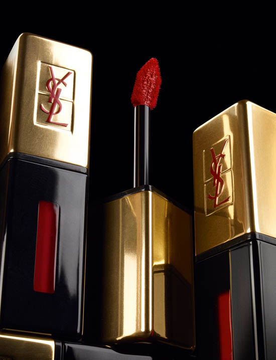 YSL rouge pur couture vernis a levres glossy stain