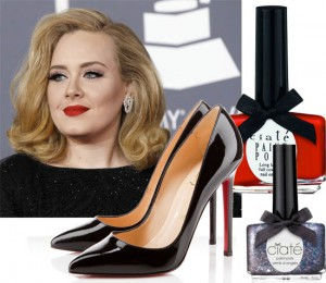 adele grammy's nails