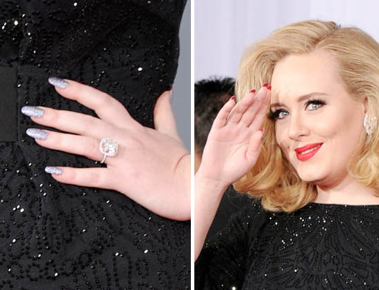 adele's grammy's nails