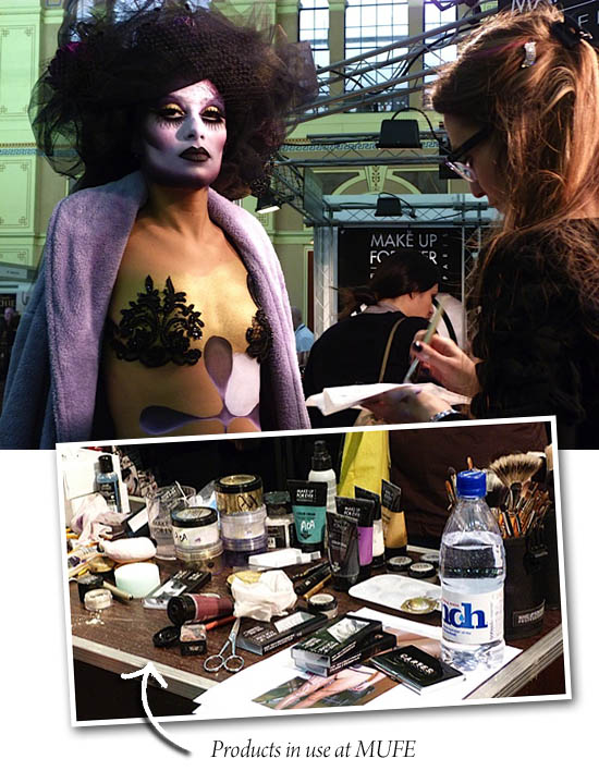 make Up for ever at Imats