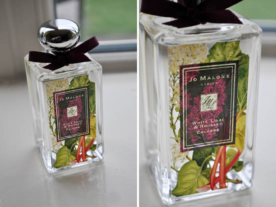 jo malone white lily and rhubarb