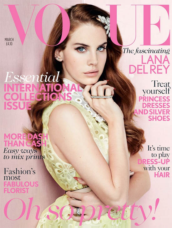 lana del rey vogue cover