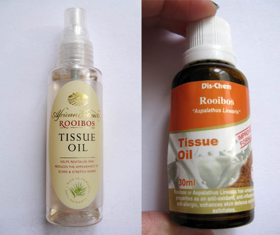 tssue oils from south africa