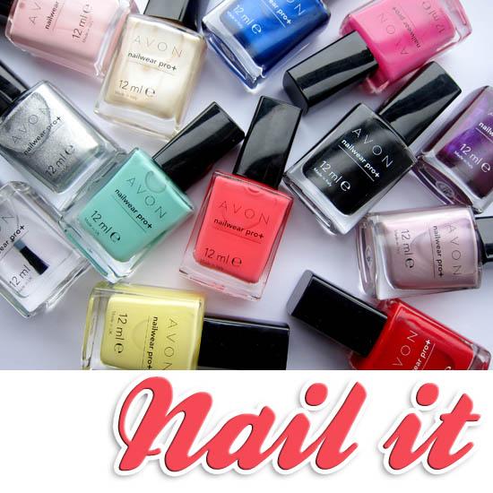 avon pro longwear nail varnish