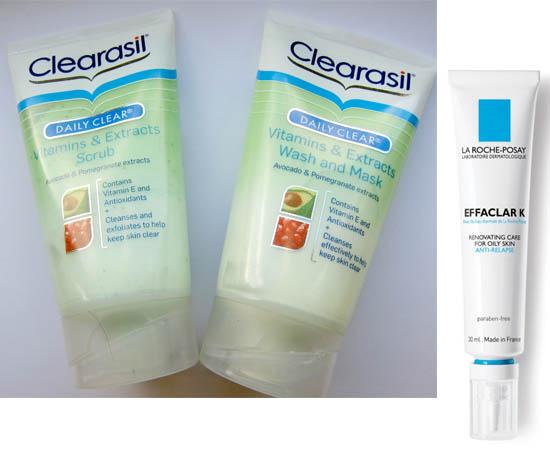 clearasil and effaclar K