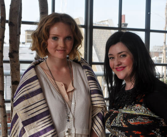 lily cole and me