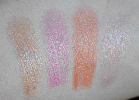 revlon lip butter swatches